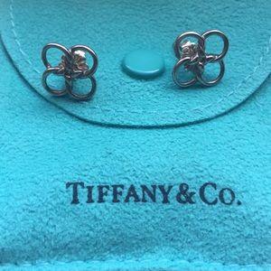 Tiffany & Co Elsa Peretti Quadrifoglio earrings